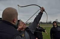 New TRH. II Turkish bow 67#/413 m /Flight-shooting/